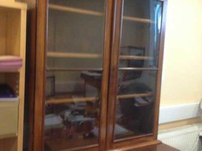 Mahogany Victorian Bookcase