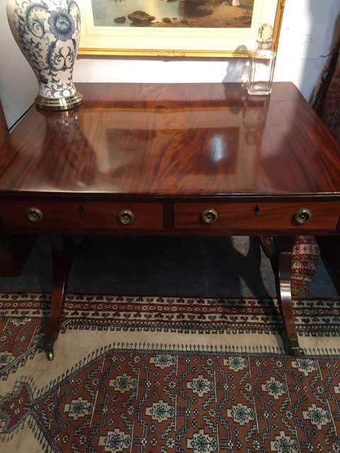 Mahogany Victorian Sofa Table