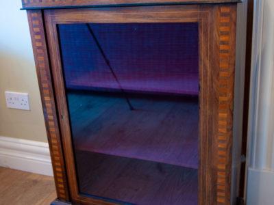 VIctorian Walnut & Mahogany Pier Cabinet