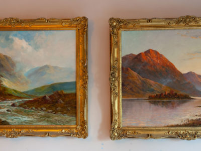 Francis Jamieson Pair of Oil on canvas