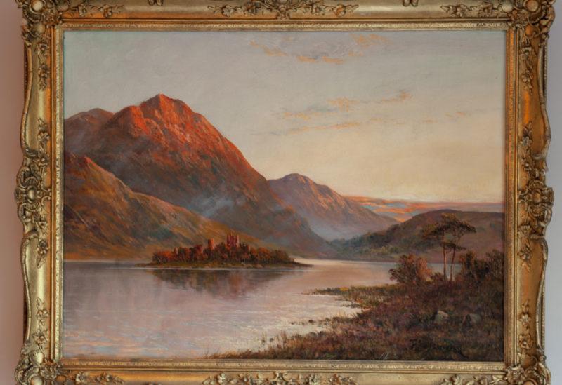 Francis Jamieson Pair of Oil on canvas
