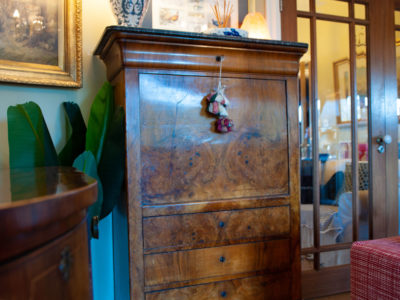 Walnut Victorian Secretaire